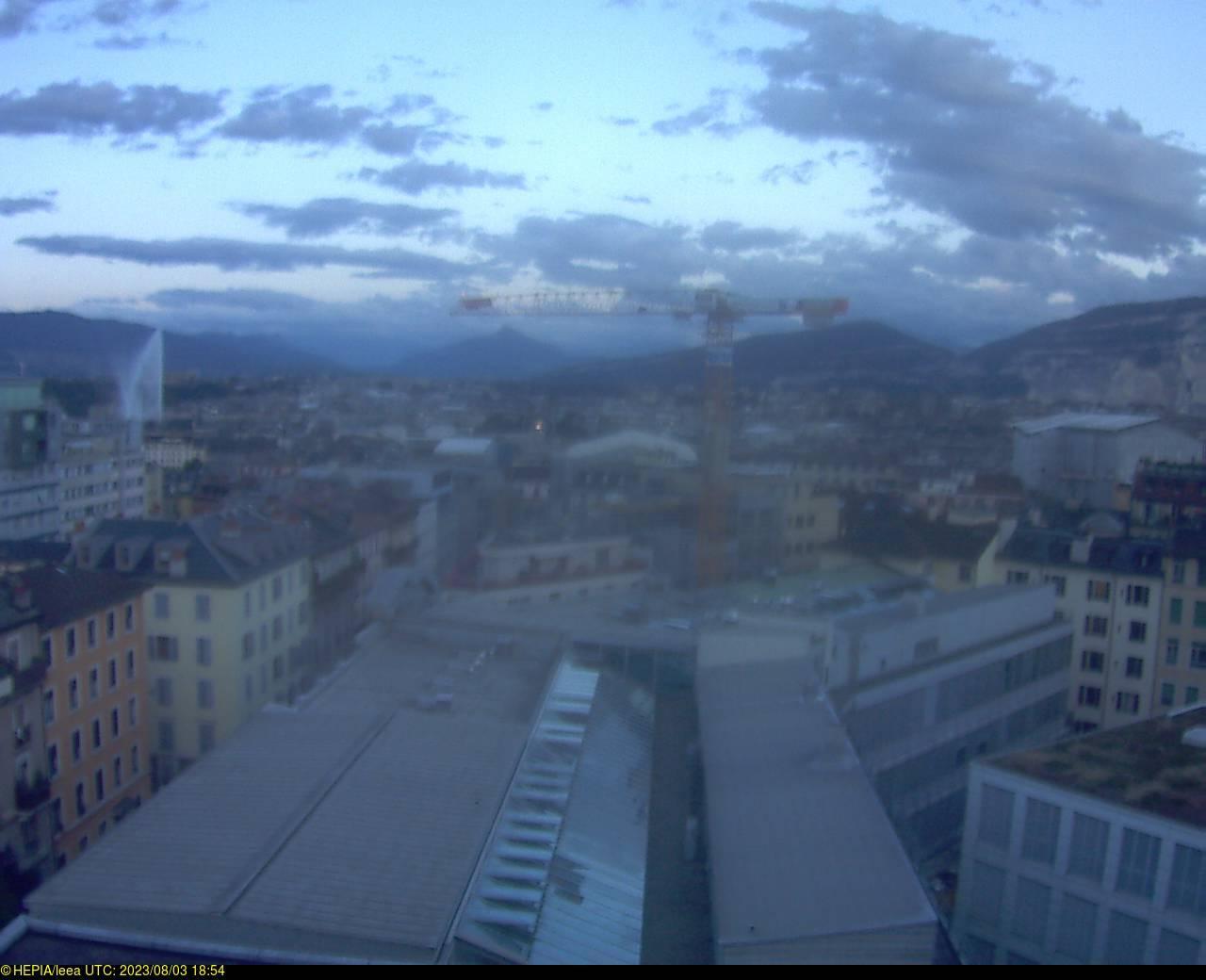 Webcam Genève City